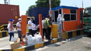 Ist. ALFI Beeikan Bantuan di Gate 9 Pelabuhan TJ Priok