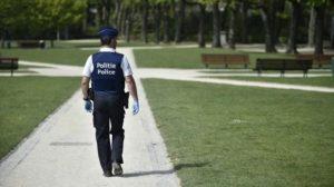 Polisi Belgia, AFP