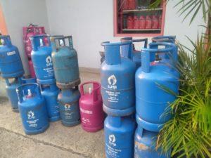 Stok gas elpiji 12 Kg di agen resmi Pertamina