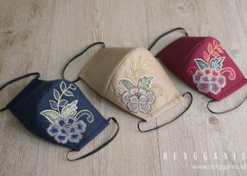 Kreasi Masker Premium dari Riri Rengganis - PORTONEWS