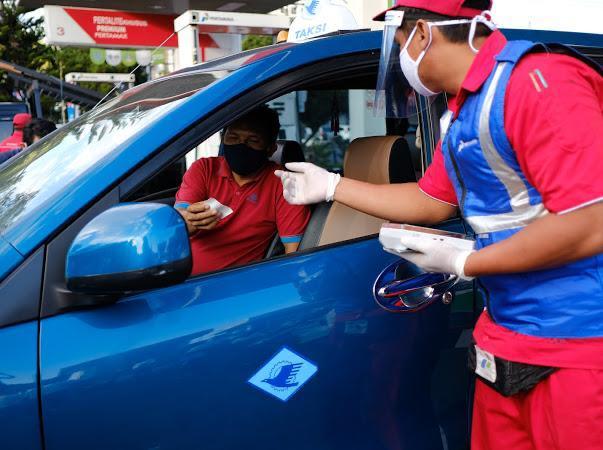 Foto Istimewa, Warga Bali mencoba BBM Pertalite